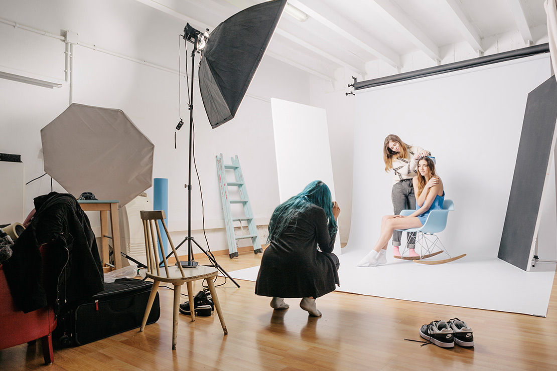 alquiler estudio fotografia barcelona Melissa Salaberry cadaver exquisit