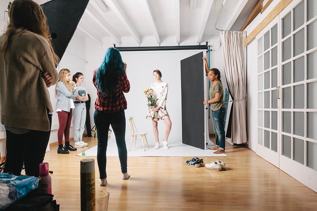 alquiler estudio fotografico barcelona Melissa Salaberry cadaver exquisit