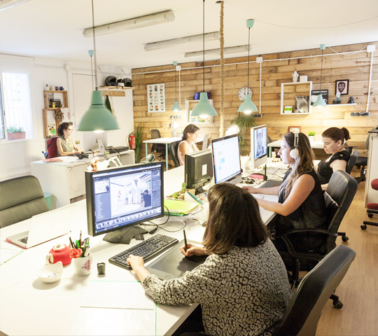 cadaver exquisit coworking barcelona gracia