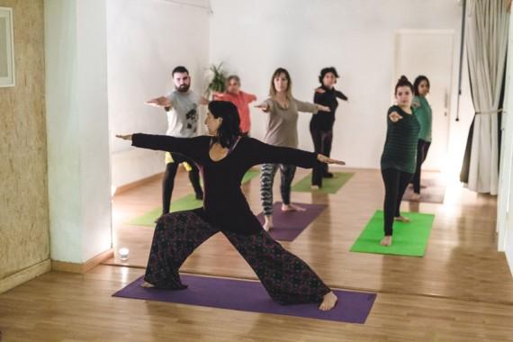 Classes de Yoga en el Coworking
