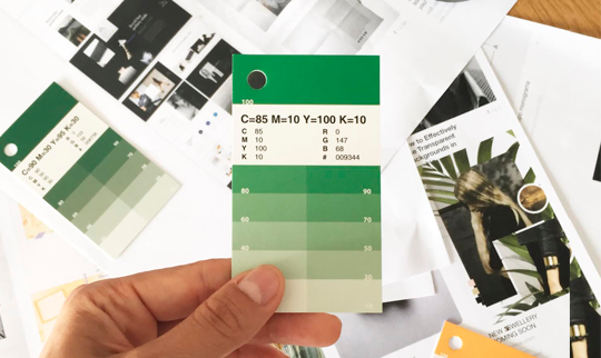 Diseña tu Identidad de Marca<b />con The Visual Corner