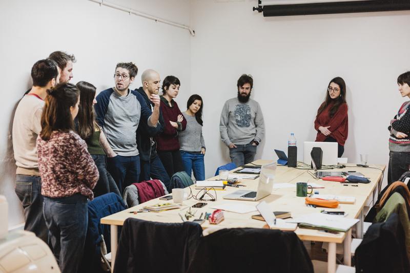 Workshop Magoz barcelona cadaver exquisit