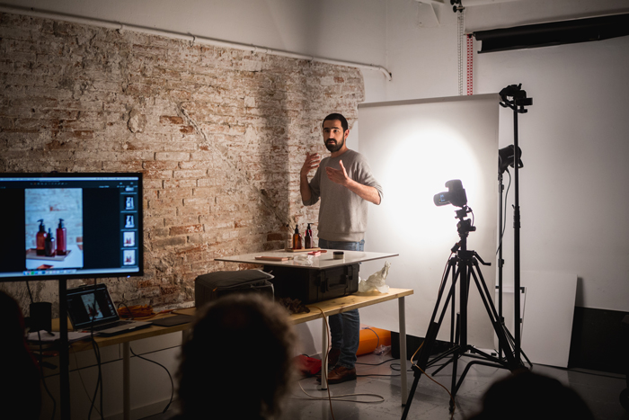 workshop fotografia producto marti sans en cadaver exquisit